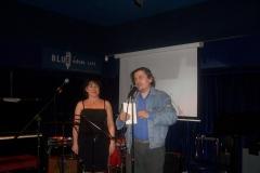 Con Roberto Freak Antoni e Alessandra Mostacci