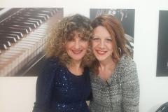 Con Manuela Vera