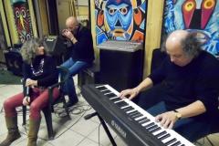 Jam session con Andreino Coco e Fio Zanotti